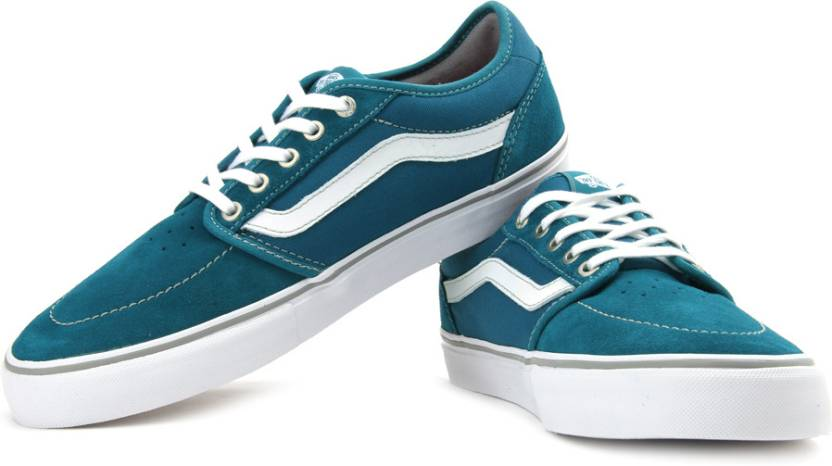 8e3e1e1bc1 Vans Lindero 2 Canvas Sneakers For Men - Buy Dark Teal Color Vans ...