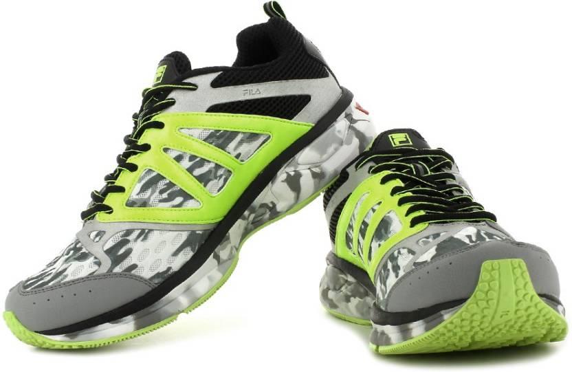 7d6834def5745 Fila Windspeed Camouflage Running Shoes For Men - Buy White, Black ...