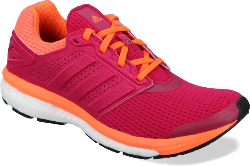 ADIDAS Supernova Glide Boost 7 W Running Shoes For Women - Buy Pink ... dc4e0cf10c8