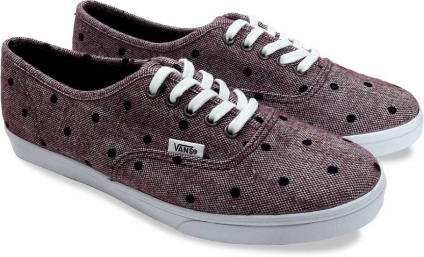 f5dde7f4b4a Vans Authentic Lo Pro Sneakers For Men - Buy Red Color Vans ...