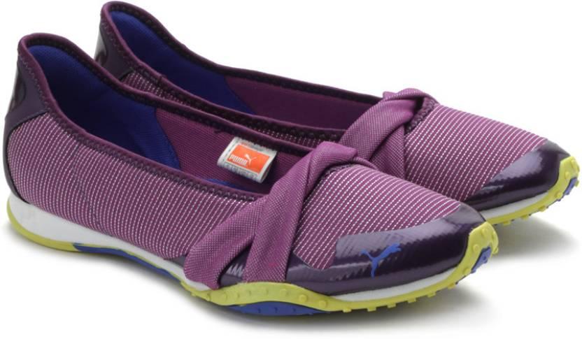 Puma Asha Ballet Shine Running Shoes For Women - Buy 03 ... c5786388680b