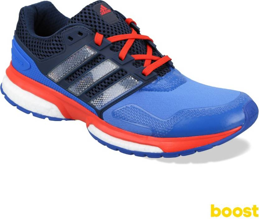 detailed look dc50c aa1c1 ADIDAS Response Boost 2 Techfit M Running Shoes For Men
