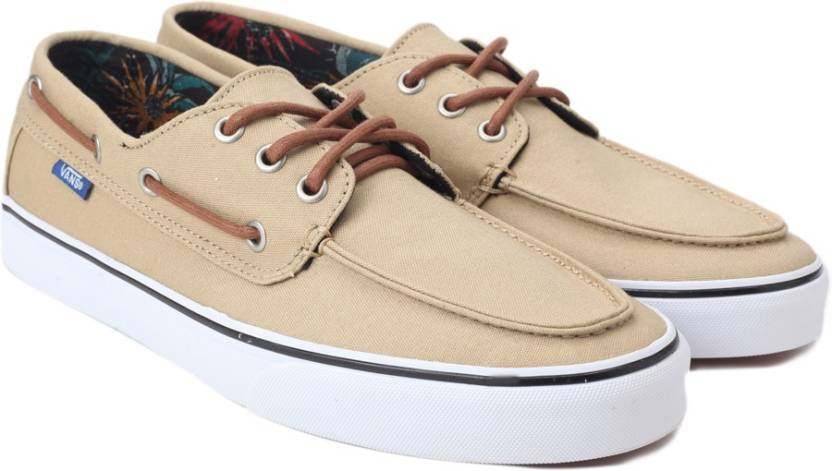 9d7f91d98b8fbe Vans Chauffeur SF Boat Shoe For Men - Buy Beige Color Vans Chauffeur ...