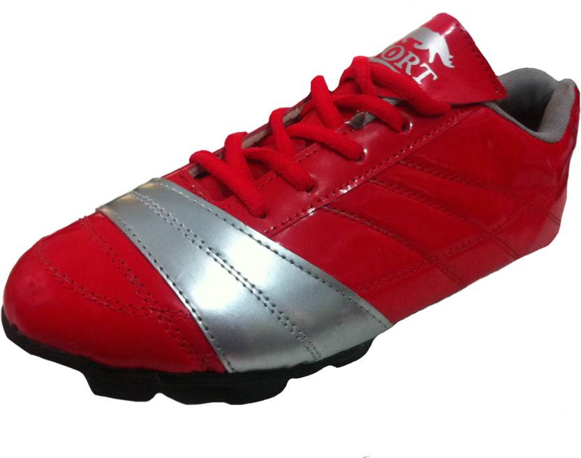 45969f443e6 Port RedChilli Soccer Cleat Football Shoes For Men - Buy Red Color ...