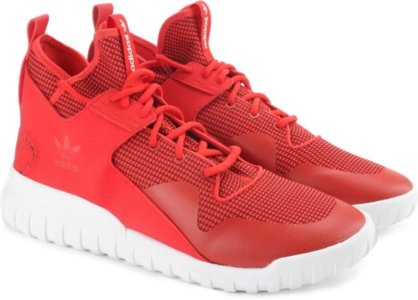 ADIDAS ORIGINALS TUBULAR X Sneakers For Men , Buy Red Color
