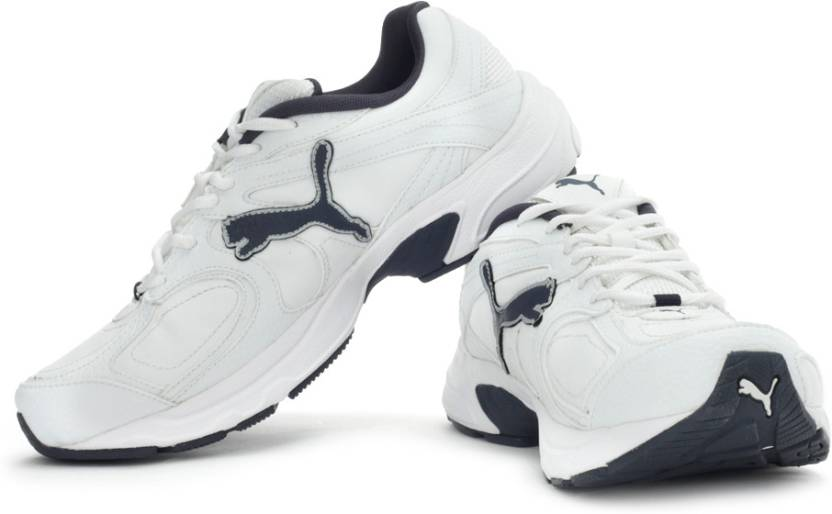 Puma Axis XT II Running Shoes For Men - Buy White 8d330149ff