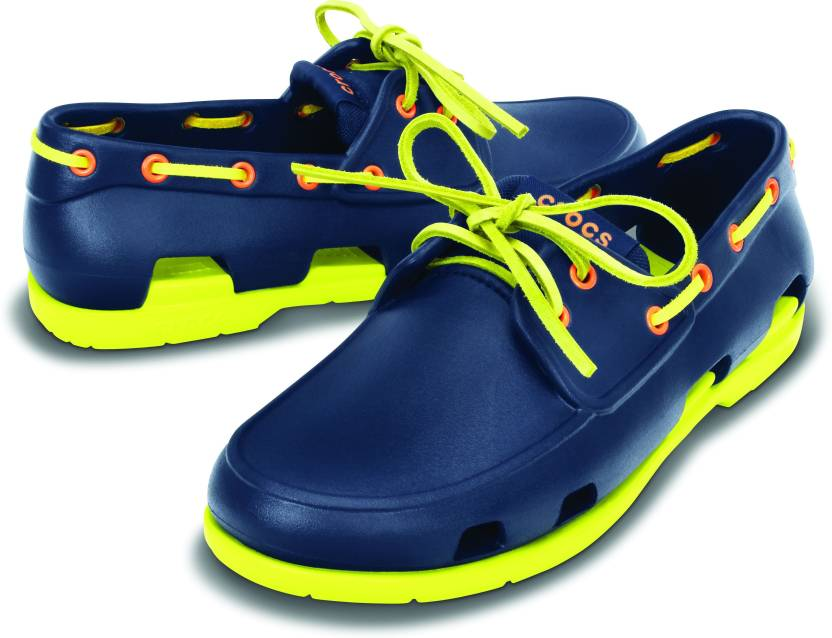 ec19cb6d77b733 Crocs Boat Shoes For Men - Buy 14327-462 Color Crocs Boat Shoes For ...