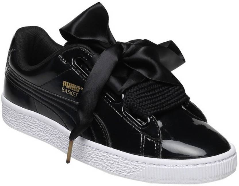 timeless design ebcd0 cb1e5 Puma Basket Heart Patent Wn's Sneakers For Women