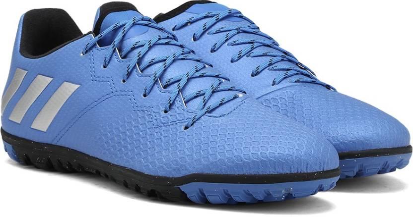 ADIDAS MESSI 16.3 TF Football turf Shoes For Men - Buy SHOBLU MSILVE ... 1c45f3f0fb97d