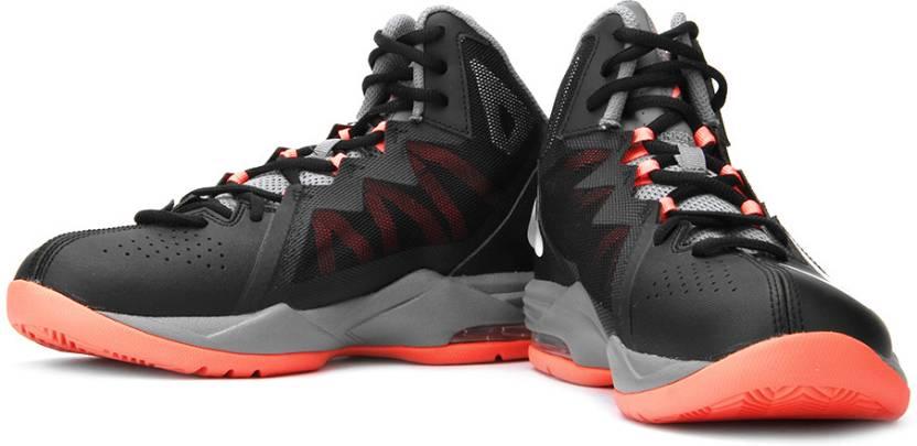 separation shoes 51fd0 0fc09 Nike Air Max Stutter Step 2 Basketball Shoes For Men (Orange, Grey, Black)
