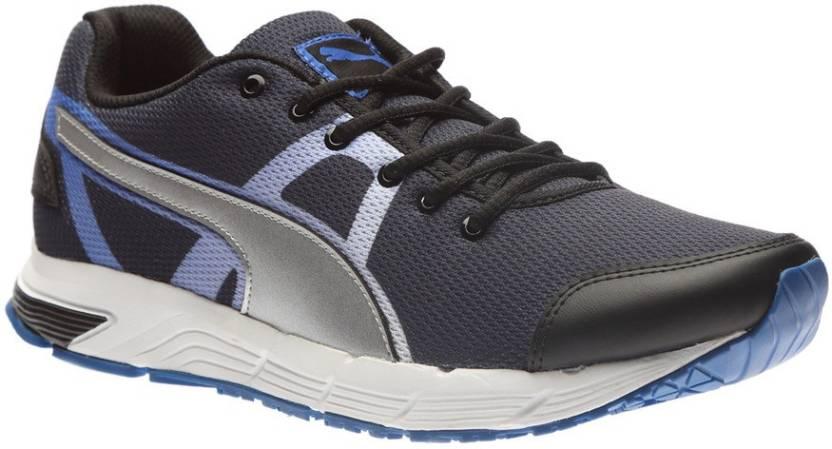 792ed312b70 Puma Hermes H2T Running Shoes For Men - Buy black-puma silver-puma ...