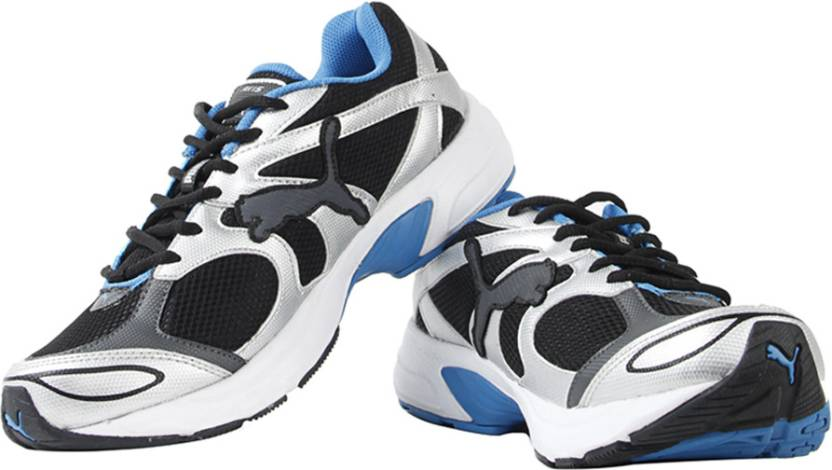 Puma Axis III IND Running Shoes For Men - Buy Black   Puma Silver ... 6d31395c44