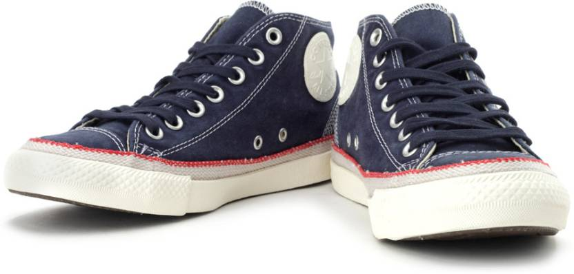 0aa6c9abb69f Converse Mid Ankle Sneakers For Men - Buy Athletic Navy Color ...