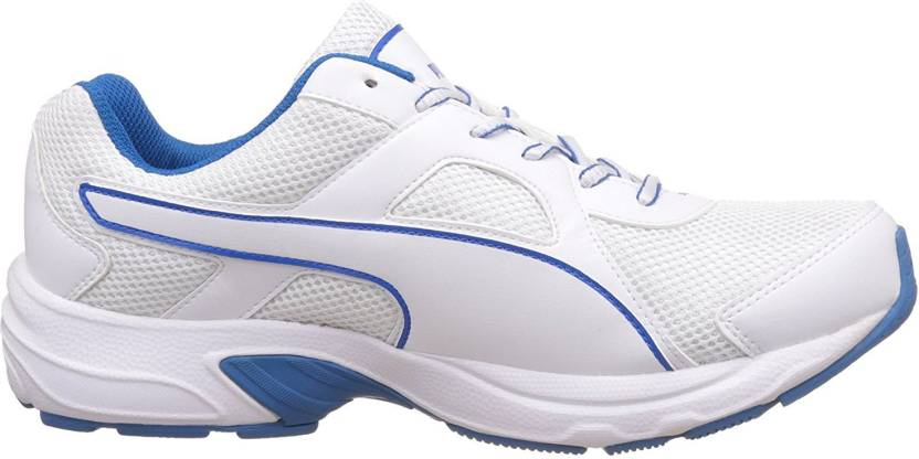 023f7d330fd5 Puma Running Shoes For Men - Buy White-Electric Blue Lemonade Color ...
