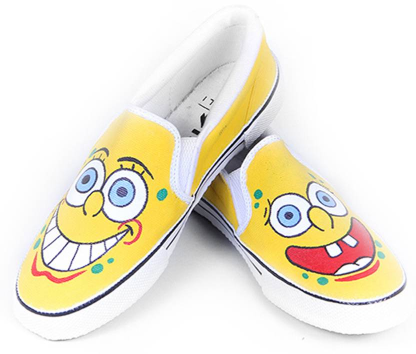 e19e1efcbb74 F-Gali Spongebob Casual Shoes For Men - Buy Multicolor Color F-Gali ...
