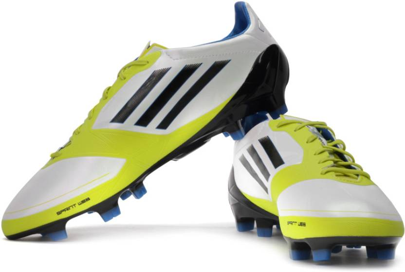 6422f7c76c3 ADIDAS F50 Adizero Trx Fg Syn Football Shoes For Men - Buy White ...