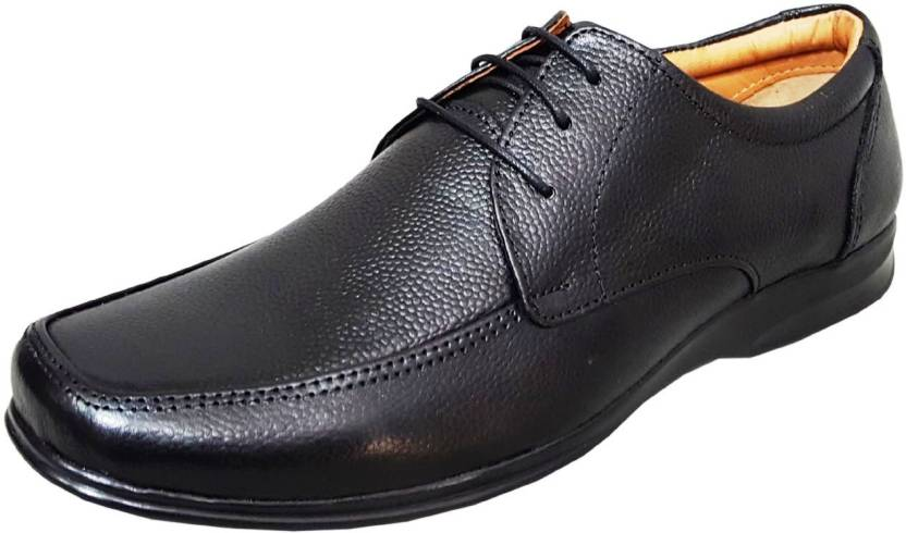 001e180fa92 Zoom Shoes For Men s Genuine Leather Shoes and Formal Shoes online D-1471-Black-10  Lace Up For Men (Black). Price  Not Available