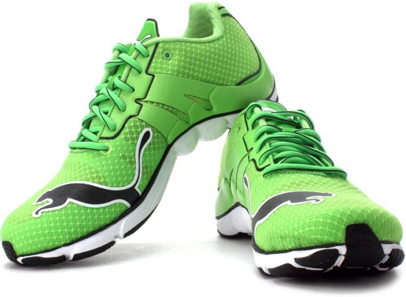 Puma Mobium Elite Running Shoes For Men - Buy Jasmine Green, Black ...