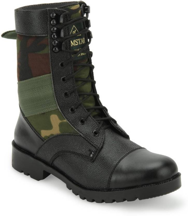 670f801ce8a0 Armstar CAMOUFLAGE HIGH ANKLE BOOTS Boots For Men - Buy CAMOUFLAGE ...