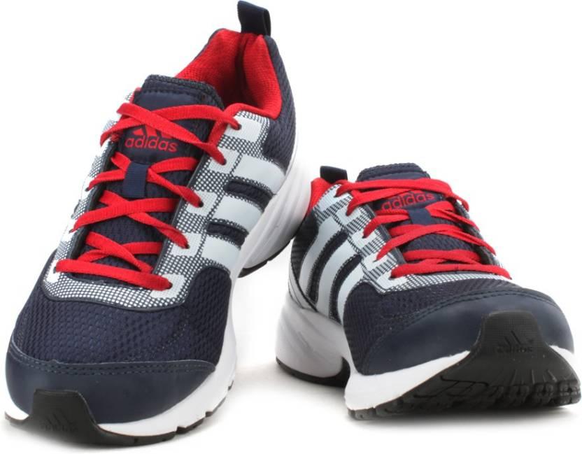 adidas dga pacer m per gli uomini comprano scarpe da corsa conavy / bianco / powred