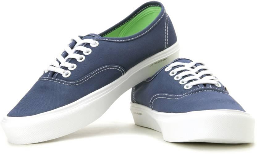 7ba7bc1802fbf8 Vans Lxvi-Authentic Lite Canvas Sneakers For Men - Buy Navy