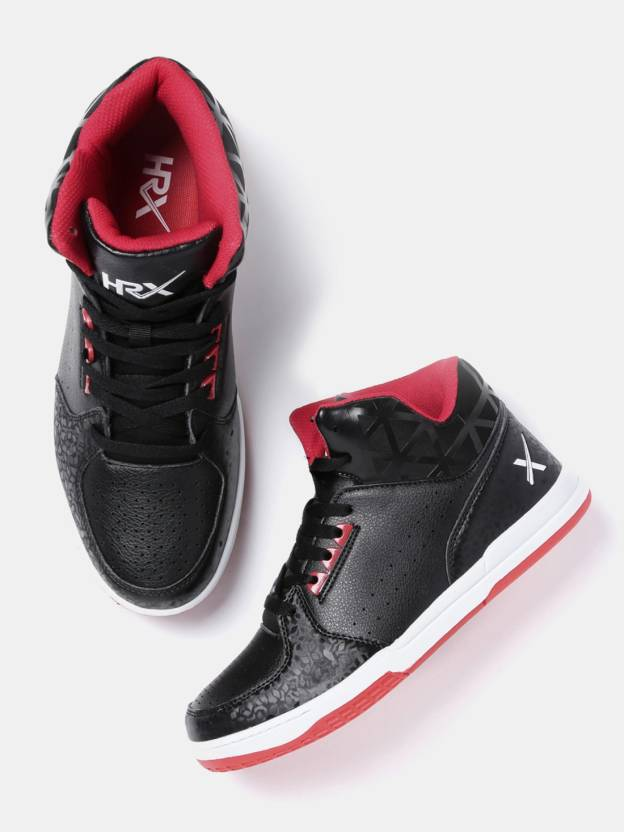 2e2d7f007 HRX by Hrithik Roshan Sneakers For Men - Buy Black Color HRX by ...