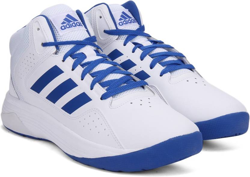 reputable site 73464 de090 ADIDAS NEO CLOUDFOAM ILATION MID Sneakers For Men (Blue, White)