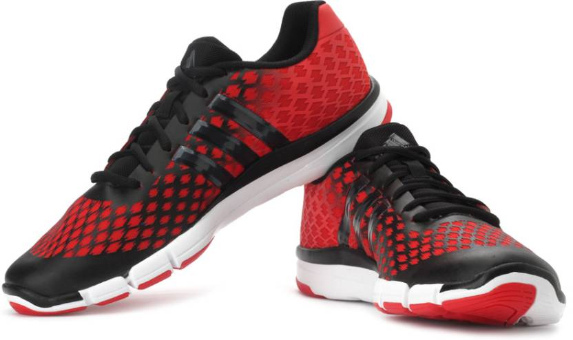 sports shoes 470a0 c5c75 ADIDAS Adipure 360.2 Primo Training Shoes For Men (Black, Red)