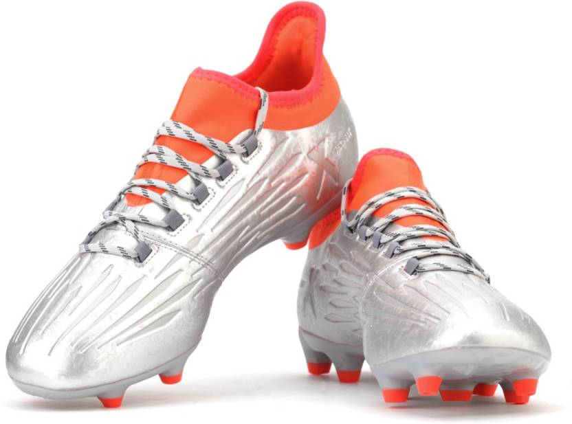 ADIDAS X 16.2 FG Football Shoes For Men - Buy SILVER MET. CORE BLACK ... 494bab51e615f