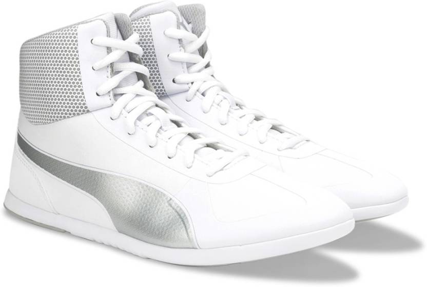 Puma Modern Soleil Mid Mid Ankle Sneakers For Women - Buy Puma White ... e60e55d9e1