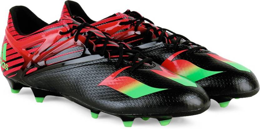 ADIDAS MESSI 15.1 Men Football Shoes For Men - Buy CBLACK SGREEN ... 26e2e96763e8