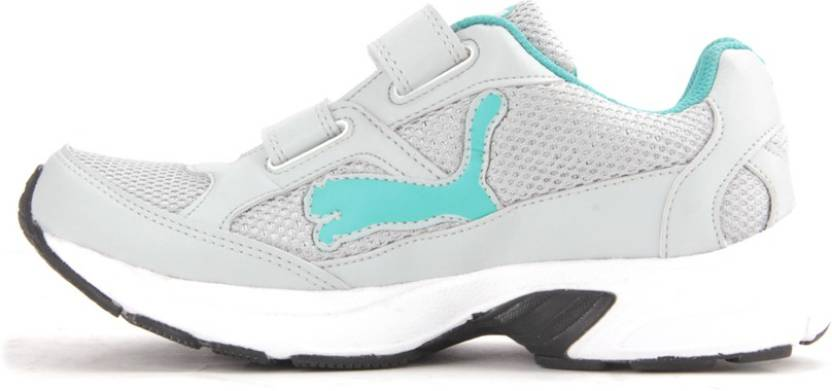Puma Axis Velcro Wn`s DP Running Shoes For Women(Grey)