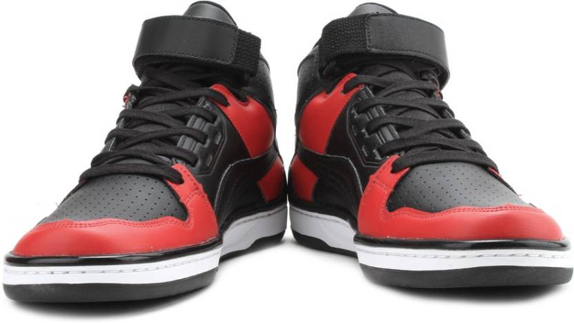 7ae741bd Puma Unlimited Mid DP Mid Ankle Sneakers For Men - Buy Black-Ribbon ...