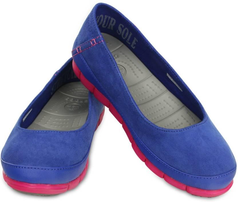 ad14b4466 Crocs Bellies For Women - Buy Cerulean Blue Candy Pink Color Crocs ...