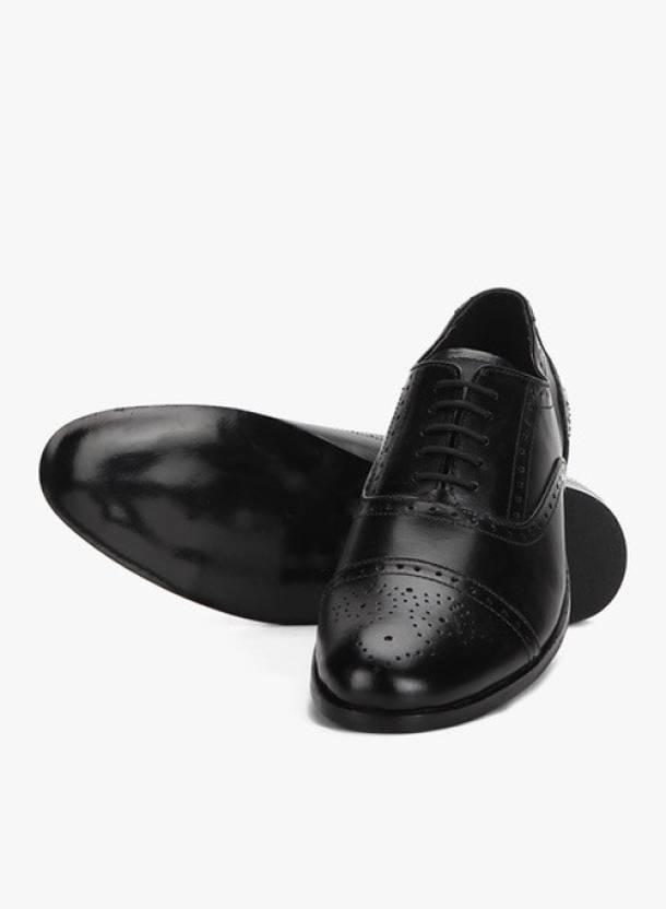 03185fd1c5e Hirel's Men Black Oxford Brogues Lace Up Shoes For Men