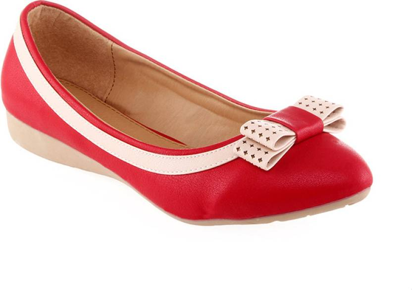 Kielz Ladies Footwear Flats Belly Bellies For Women - Buy Red ...