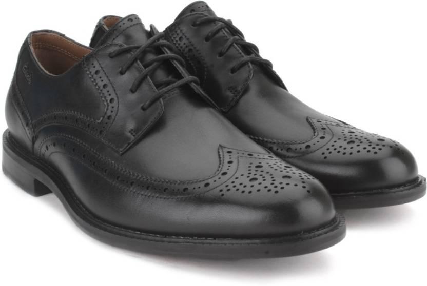 20e706bb Clarks Dorset Limit Black Men Genuine Leather Formal shoes For Men