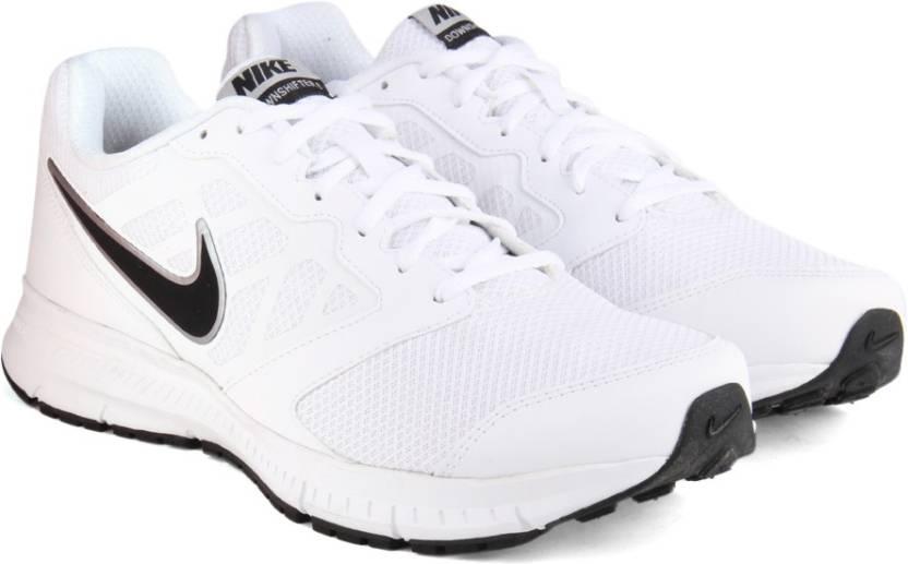 Nike DOWNSHIFTER 6 MSL Running Shoes For Men - Buy WHITEBLACK Color ... fd8a0e274