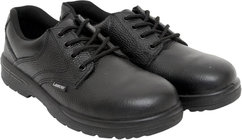 Lancer Safety Shoes with Steel Toe Cap Outdoors For Men - Buy Black ... c961d31b92