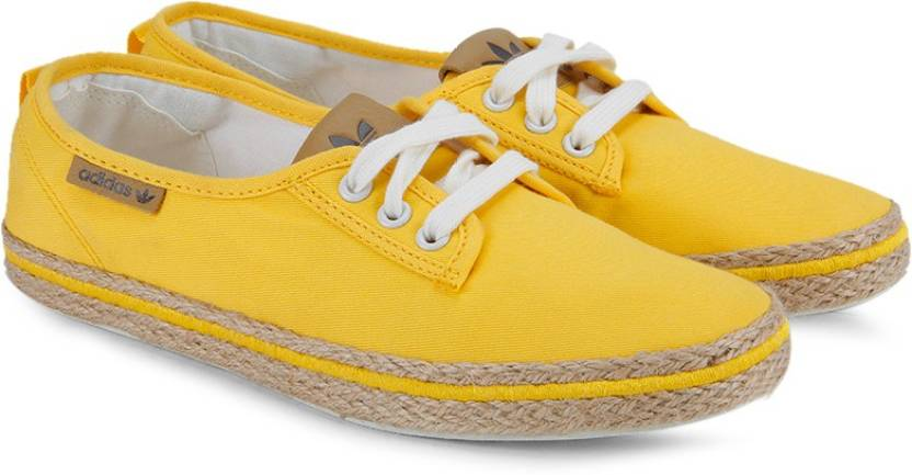 cd3d54df362c ADIDAS ORIGINALS Honey Plimsole Espadrille W Sneakers For Women (Yellow)