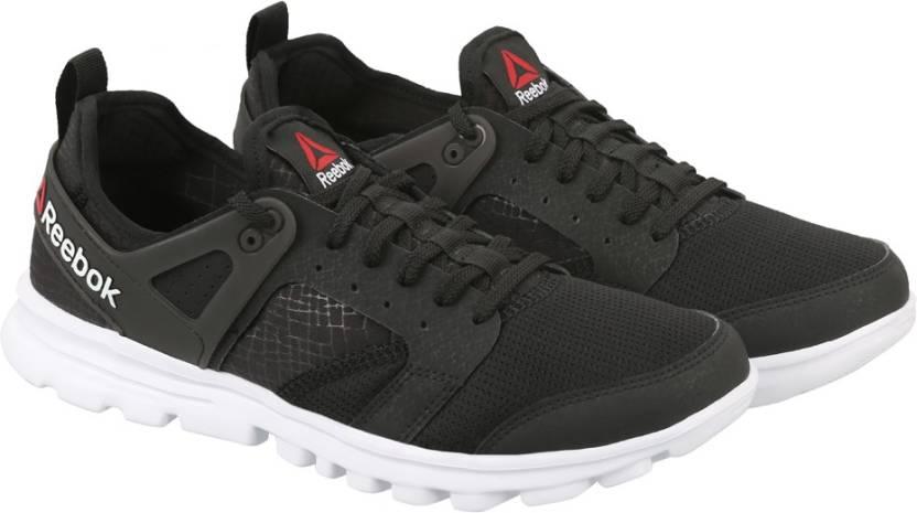 a7d04164b71fd1 REEBOK AMAZE RUN Running Shoes For Men - Buy BLK WHT Color REEBOK ...