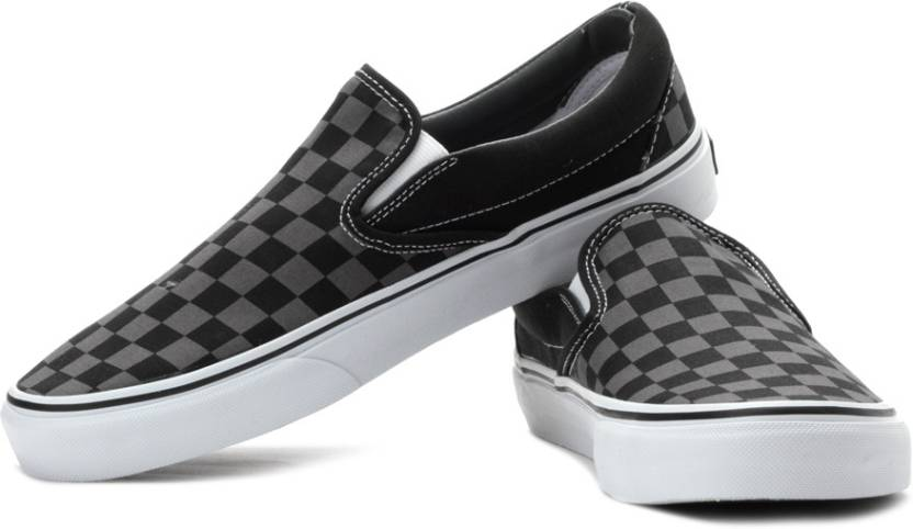 a89639bba992 Vans Classic Slip-On Loafers For Men - Buy (Checkerboard) Black ...