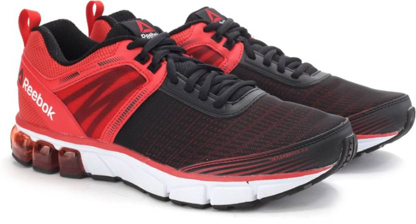 8e494fdea641 REEBOK JET DASHRIDE 2.0 Running Shoes For Men - Buy RED WHITE BLACK ...