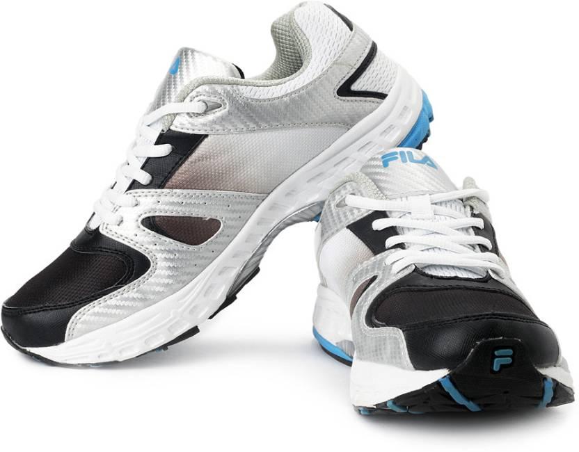 8e7f2238f58c Fila Impact Running Shoes For Men - Buy Silver
