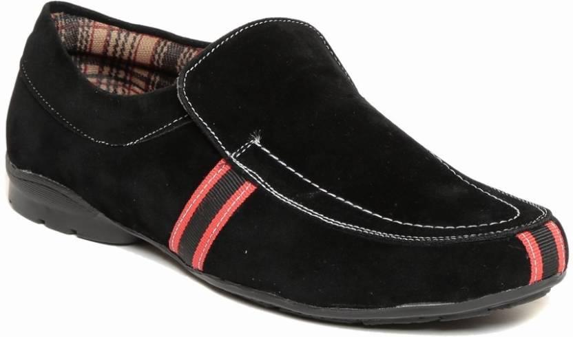 Zapatoz zapatoz mens mustang slip on sneaker Loafers For Men