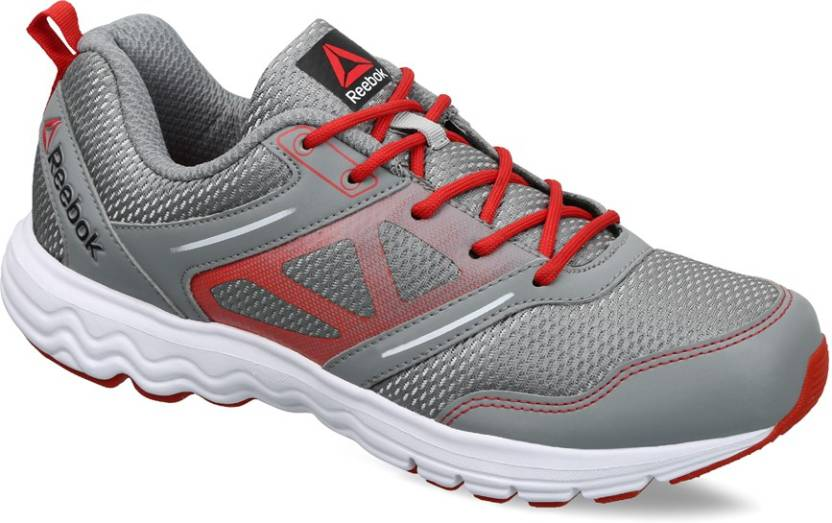 013097de55a REEBOK RACE Running Shoes For Men - Buy FLAT GREY RED WHITE Color ...