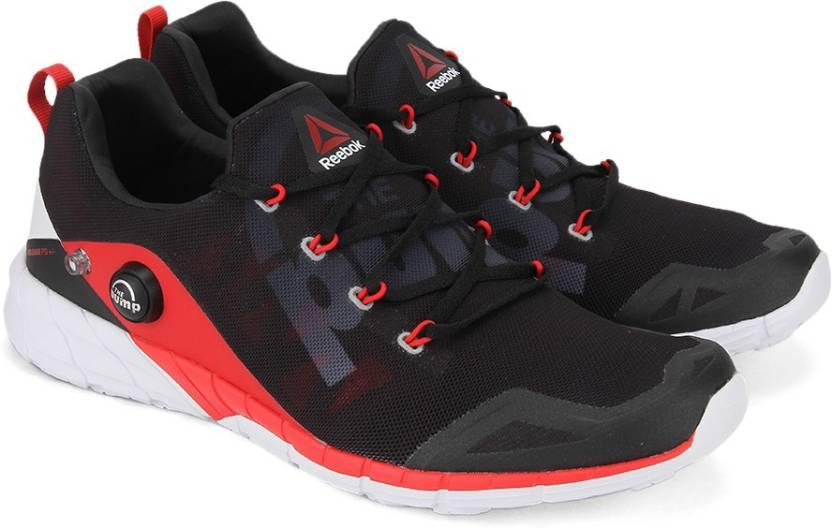 1228d10bb0df9 REEBOK ZPUMP FUSION 2.0 Running Shoes For Men - Buy RED/COAL/BLACK ...