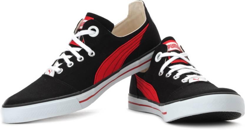 Puma Limnos Cat Black Sneakers