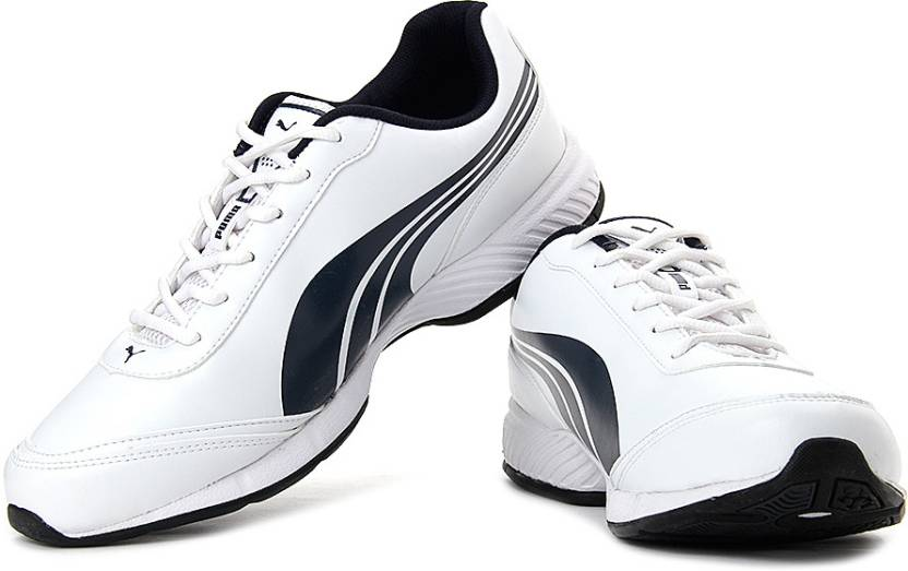 7723a5eafb24 Puma Roadstar XT DP Running Shoes For Men - Buy White-Navy Blue ...