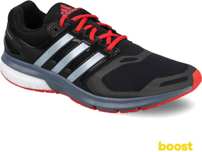 finest selection a394c c17e8 ADIDAS Questar Boost TF M Running Shoes For Men (Black)